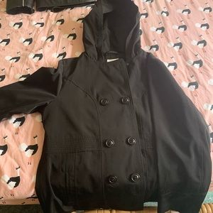 Light Pea Coat Jacket